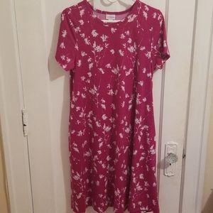 Lularoe Carly Swing Shift Dress Size M